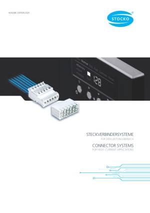 Connector Systems for High-Current Applications