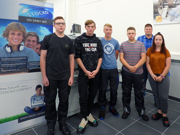 STOCKO CONTACT welcomes 5 new apprentices
