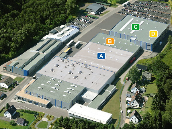 New STOCKO operating areas totalling 6,900 m² at the Hellenthal site