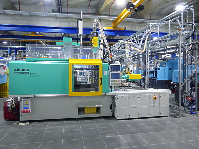 2-Component Injection Moulding Machine